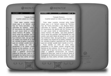 Paperlight 310, el primer e-Book con pantalla táctil de Woxter